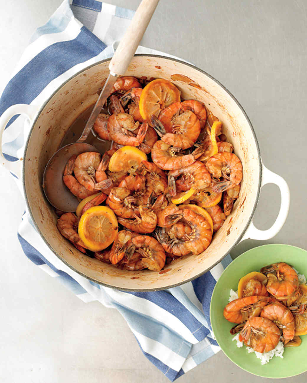 Cajun-Style Barbecued Shrimp