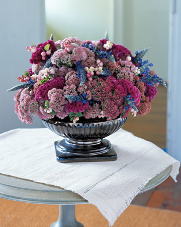 Jewel-Toned Flower Arrangement