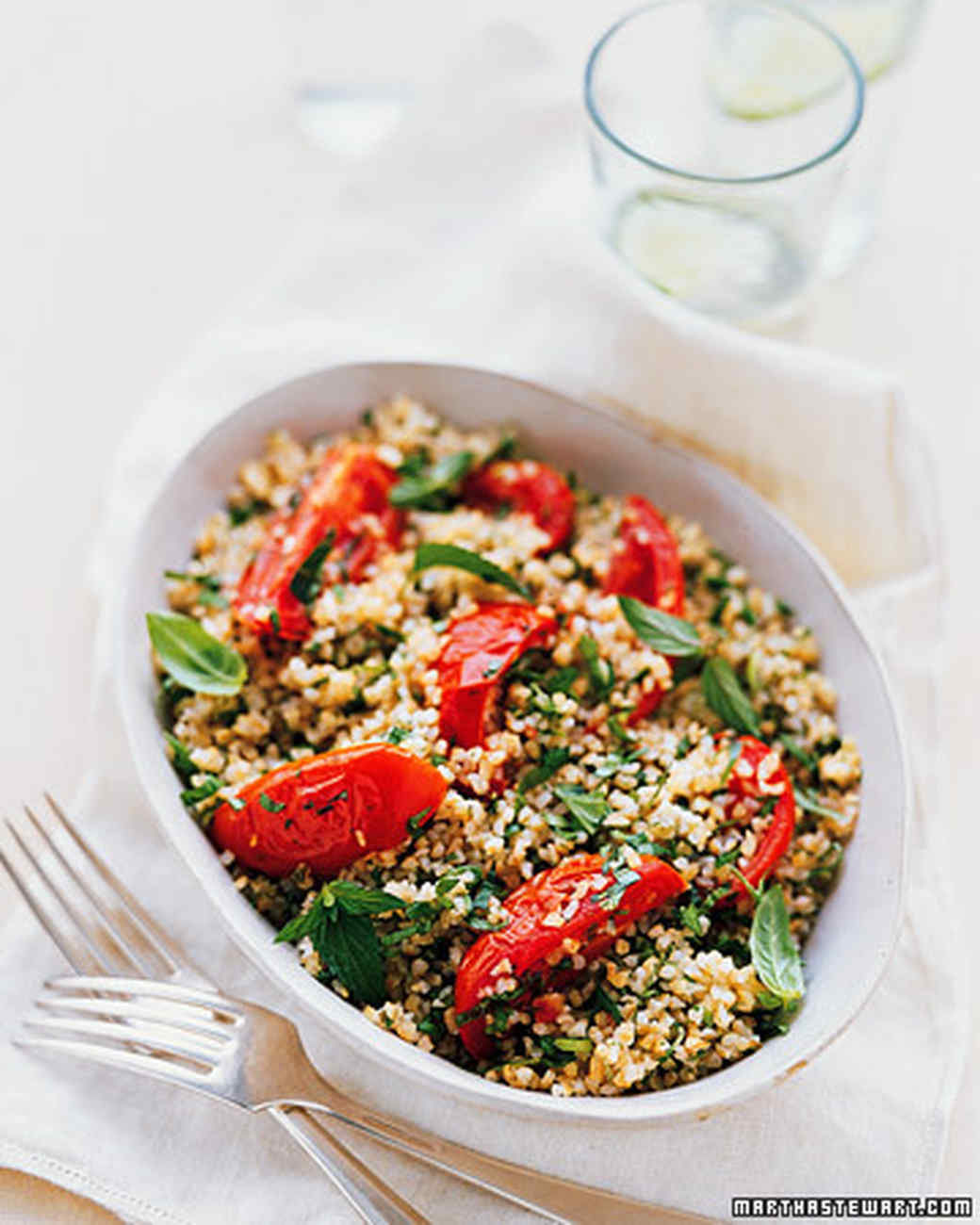 Roasted-Tomato Tabbouleh