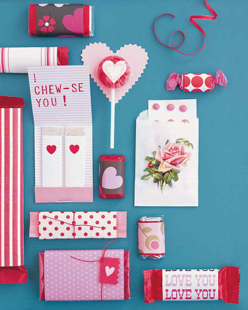 Patterned Paper Wrap