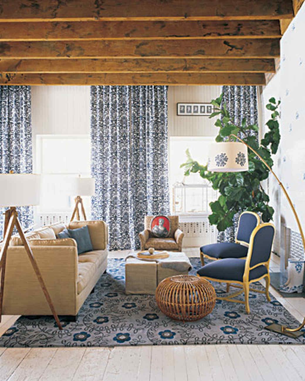 Blue Rooms | Martha Stewart