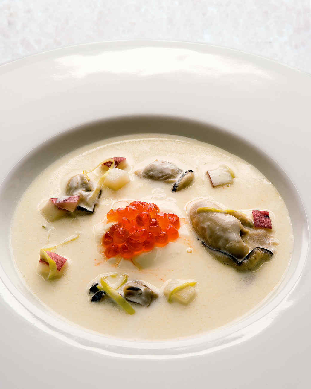 Oyster Stew with Caviar