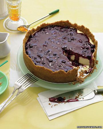 Blueberry Topping Recipe | Martha Stewart