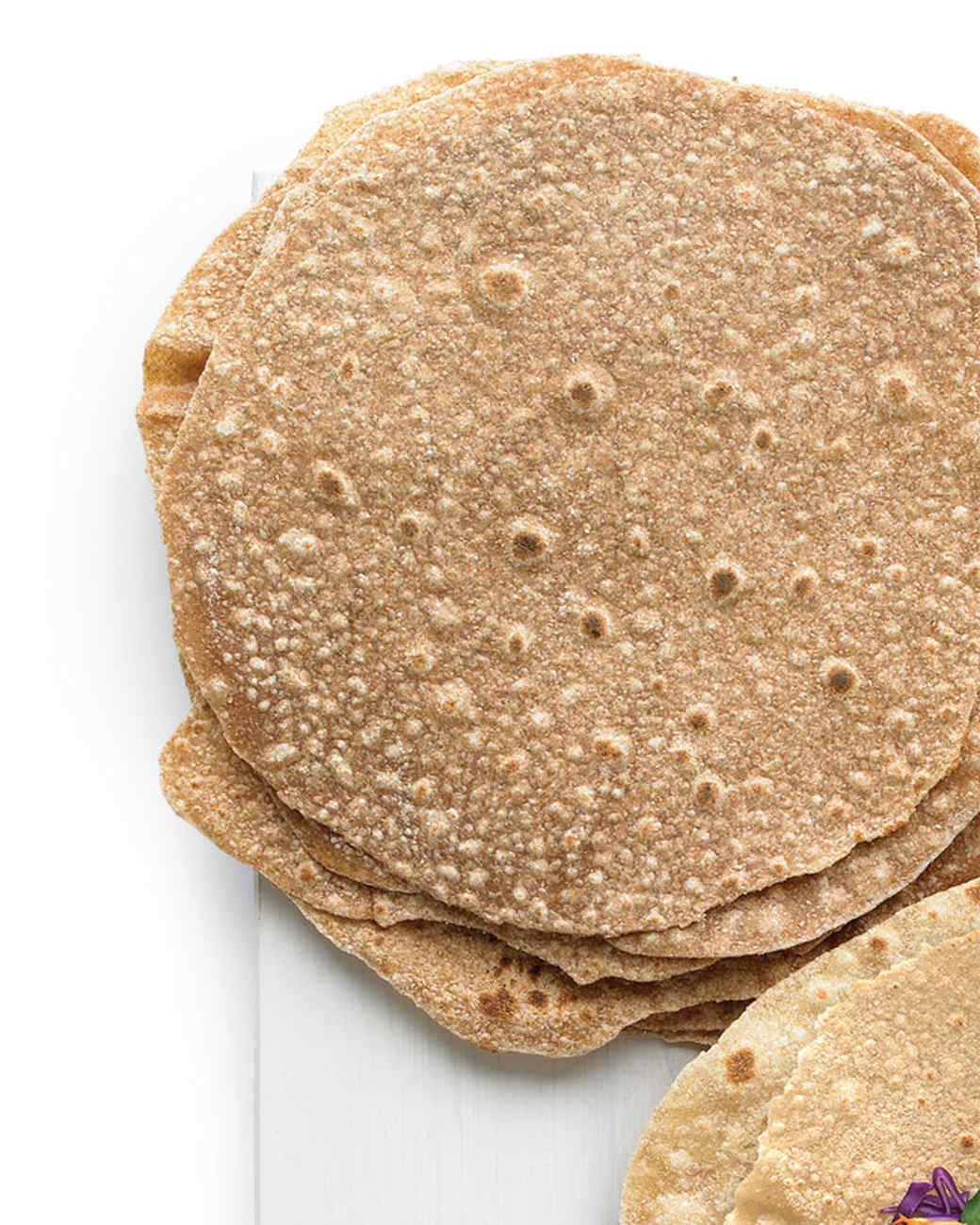 Spelt or Kamut Tortillas