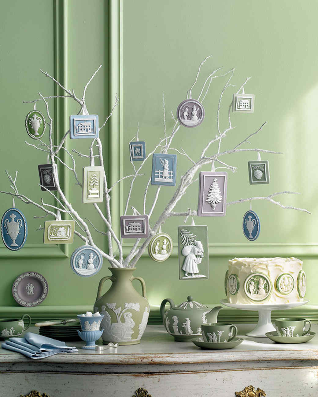 Jasperware Ornaments