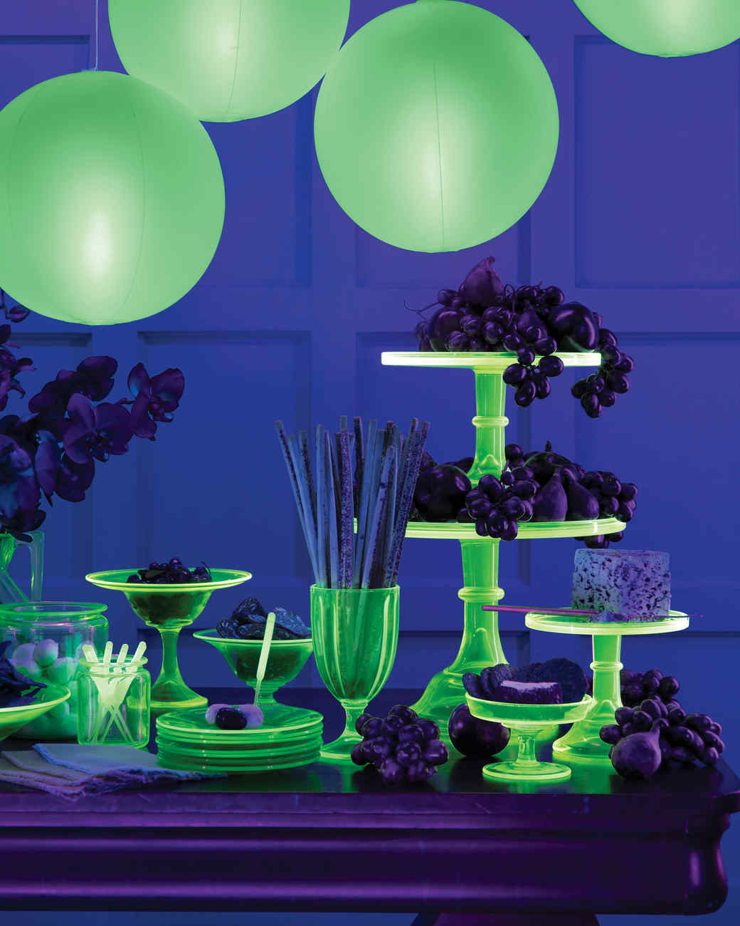 Glowing Cups and Candlesticks