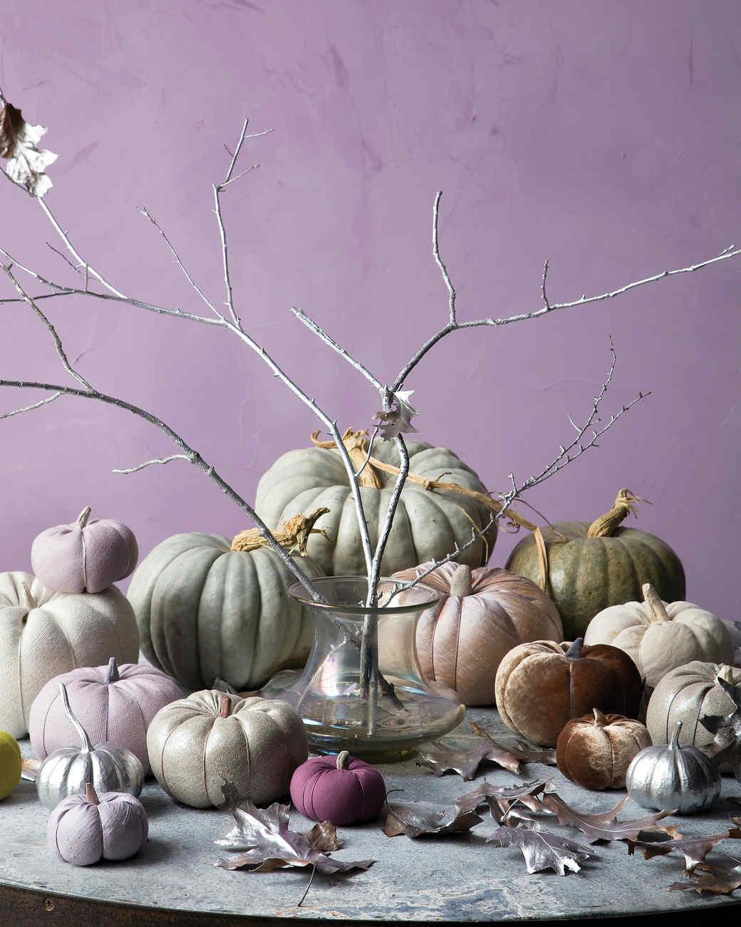 Fabric Pumpkins Martha Stewart