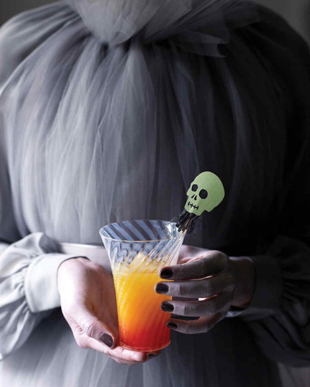 Halloween Sunset Cocktail
