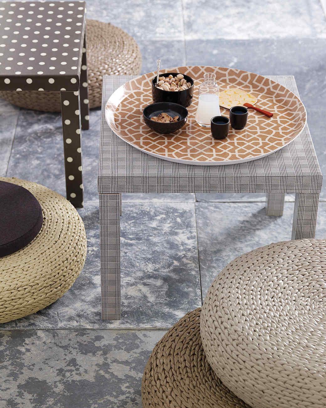 Oilcloth Tables