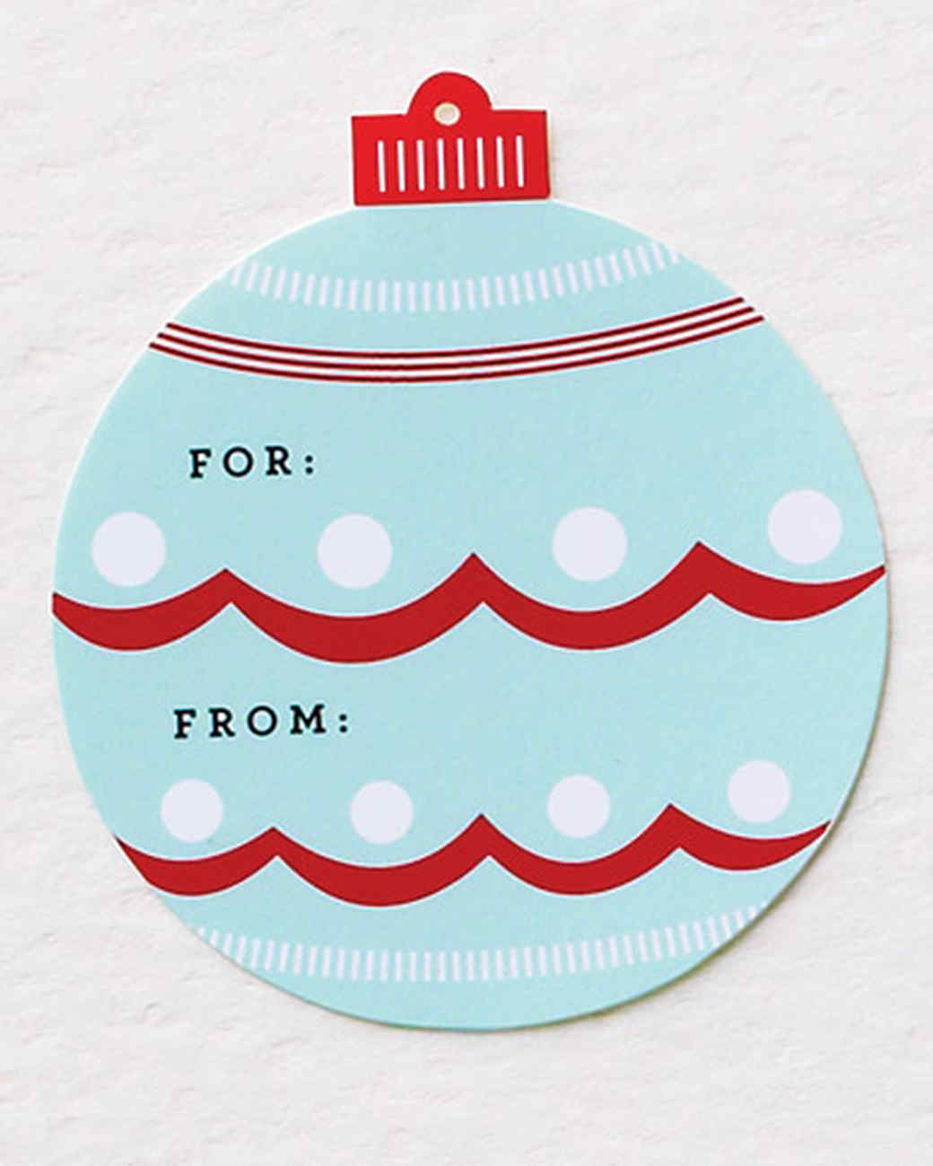 30 Holiday Gift Tags, Labels, and Clip-Art You Can Use Right Now ...