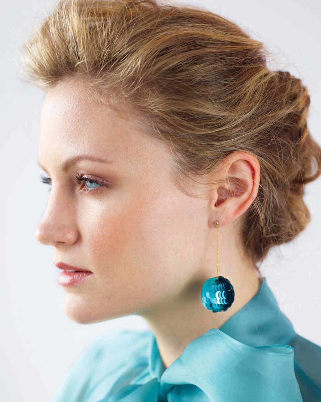 Sequin Ball Earrings