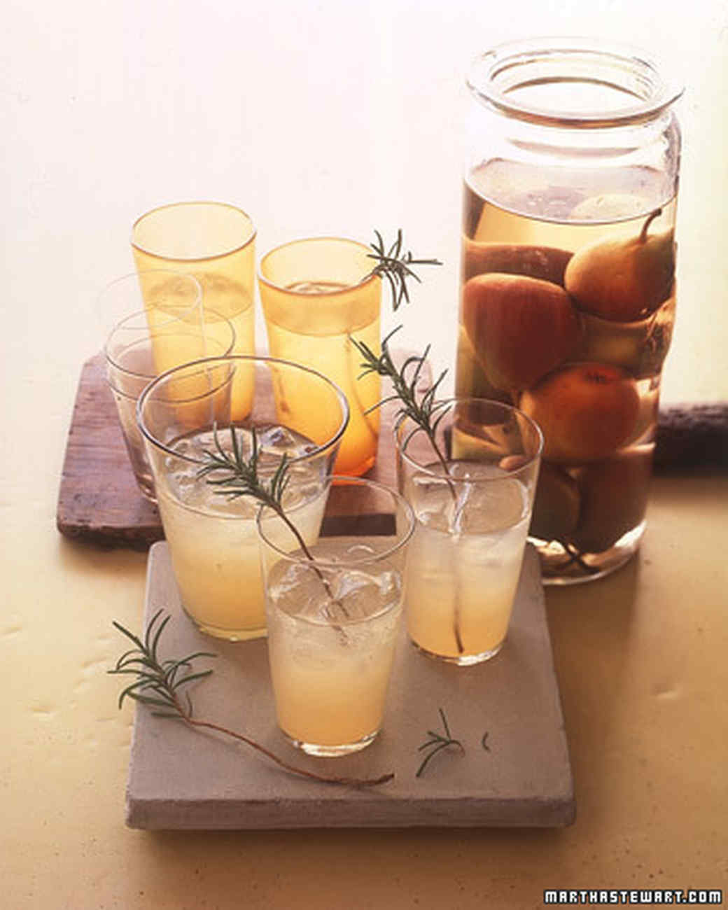 Pear-Rosemary Cocktails