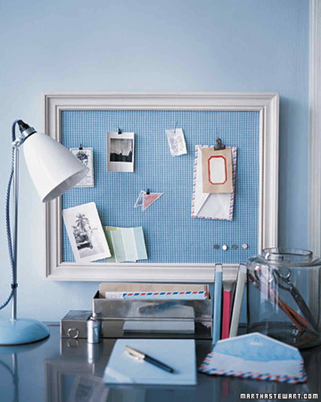 Framed Bulletin Board | Martha Stewart