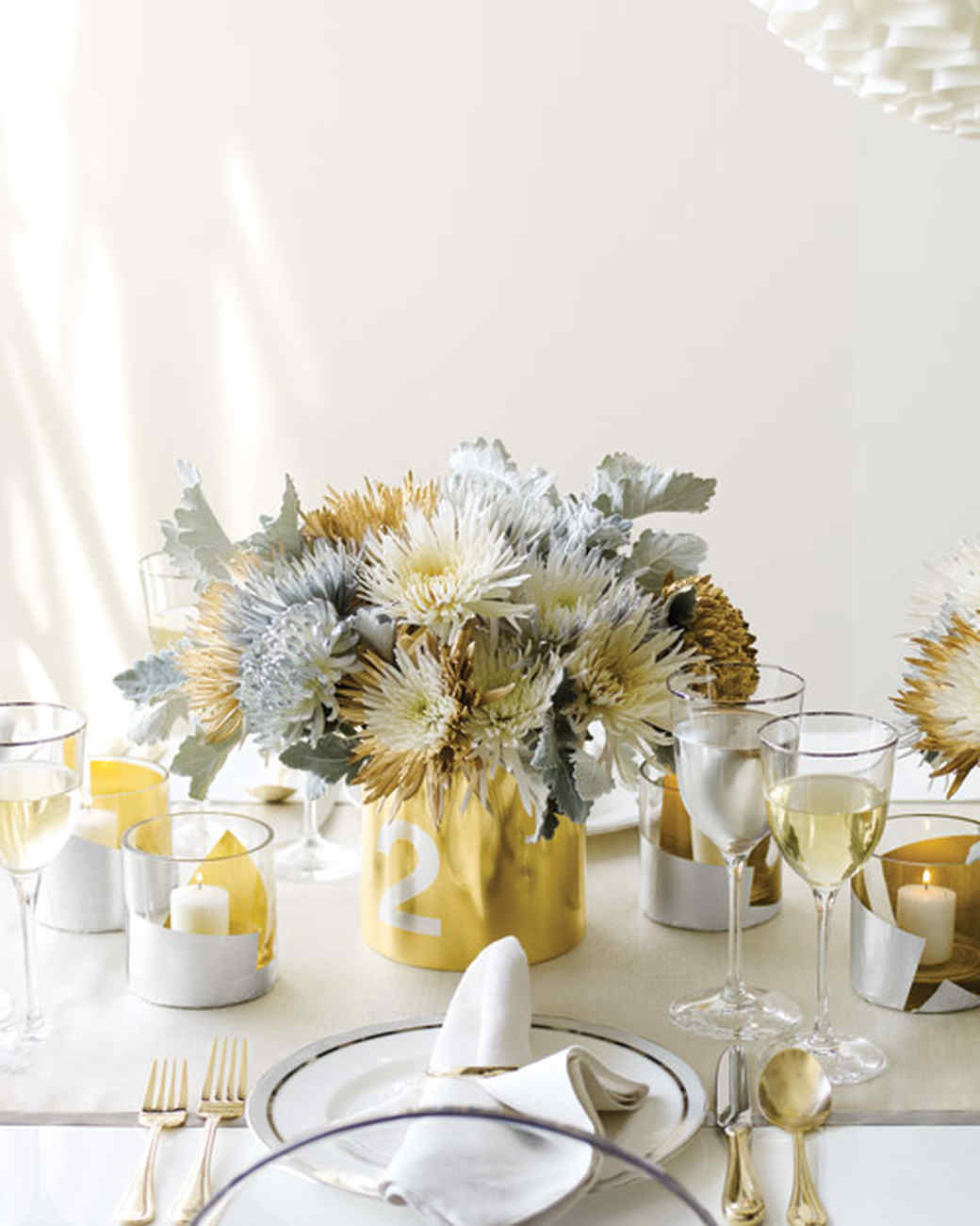 New Year\'s Eve Table Decorations | Martha Stewart