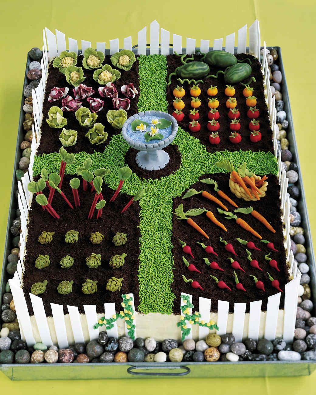 Vegetable Garden Cake Ideas Part - 27: Martha Stewart