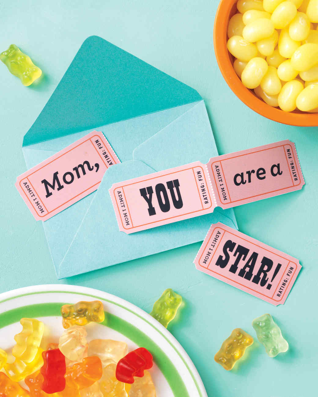 Movie Night Mother's Day Card