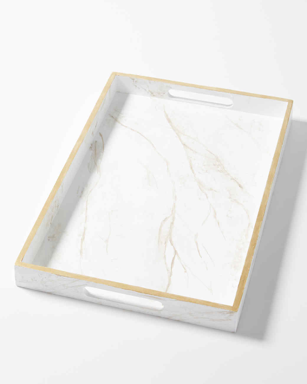 DIY This Marvelous Marble Serving Tray | Martha Stewart