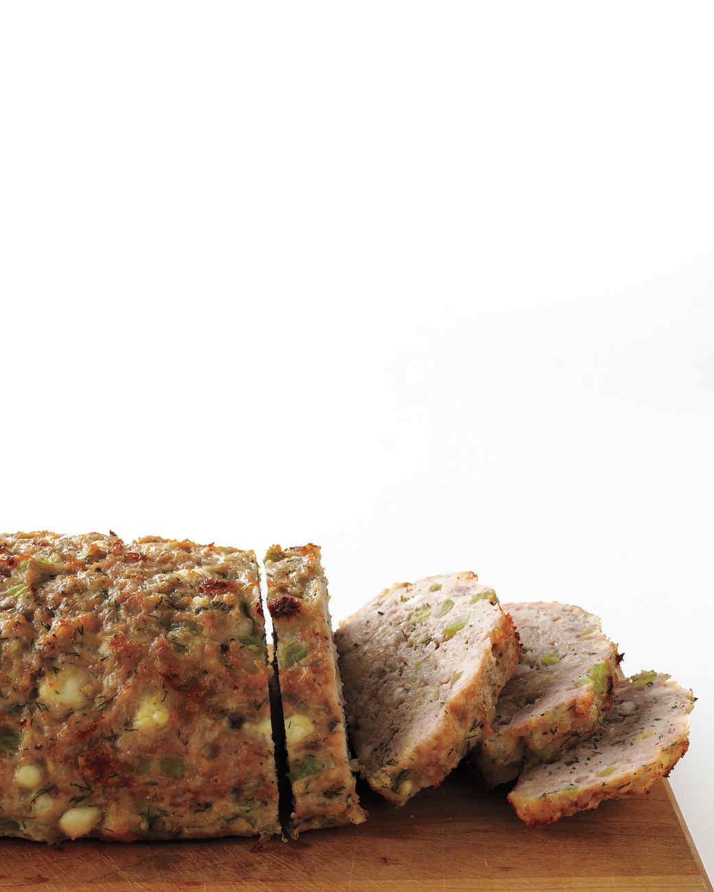 Greek-Style Turkey Meatloaf