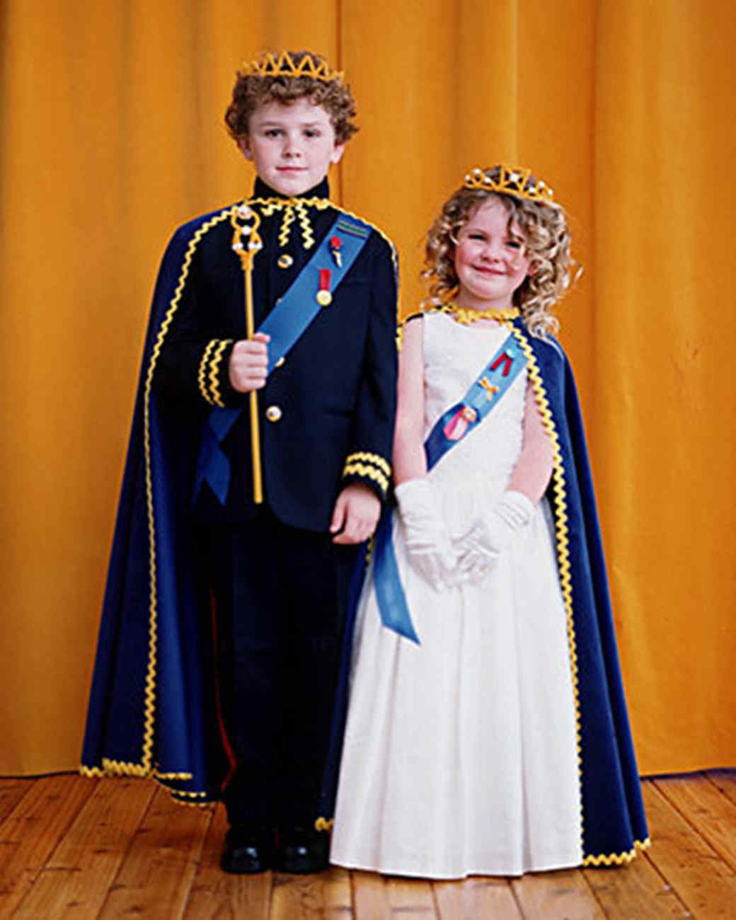 His and Her Royal Highness Costumes  sc 1 st  Martha Stewart & His and Her Royal Highness Costumes | Martha Stewart
