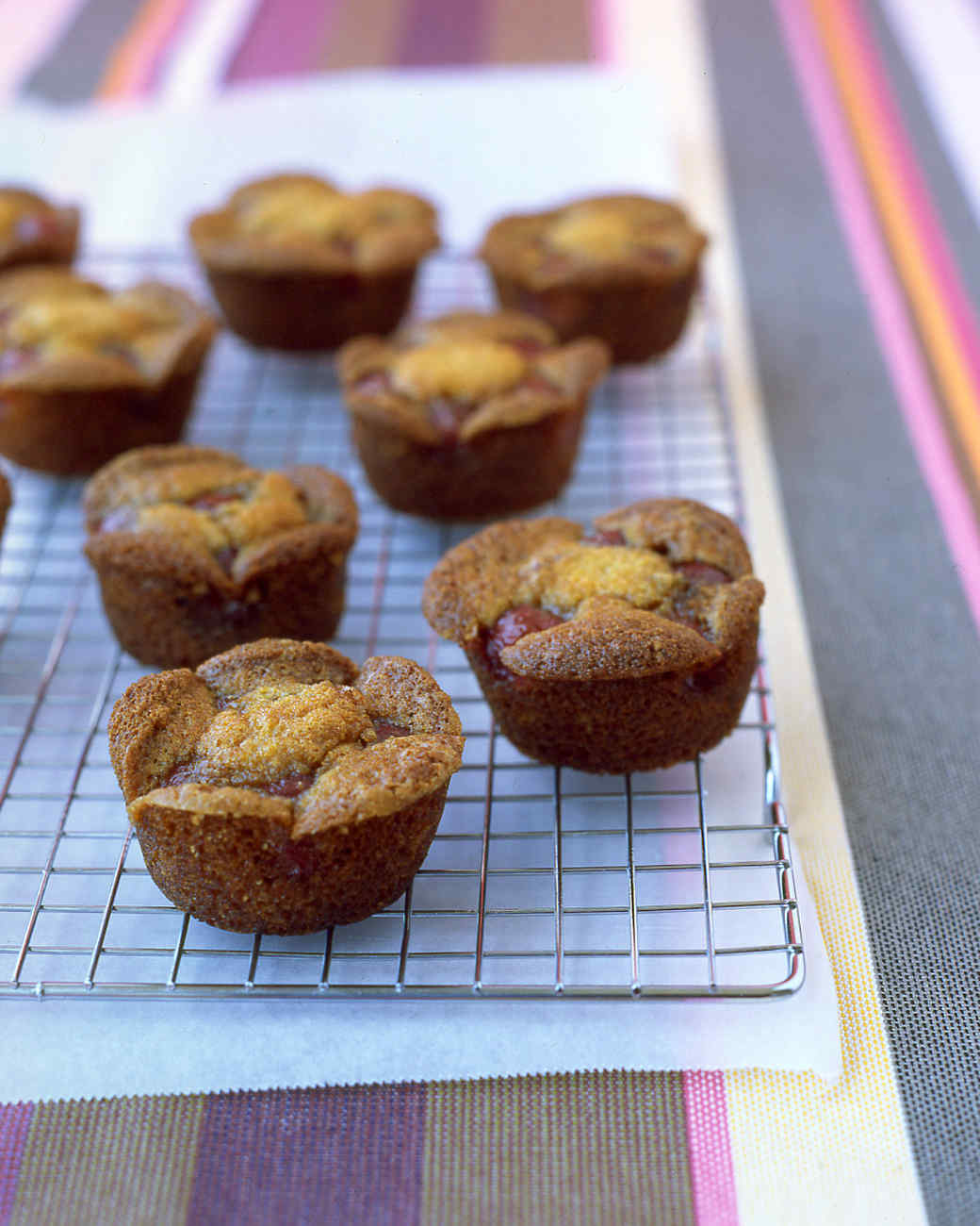 Easy Brown-Sugar Cherry Cakes