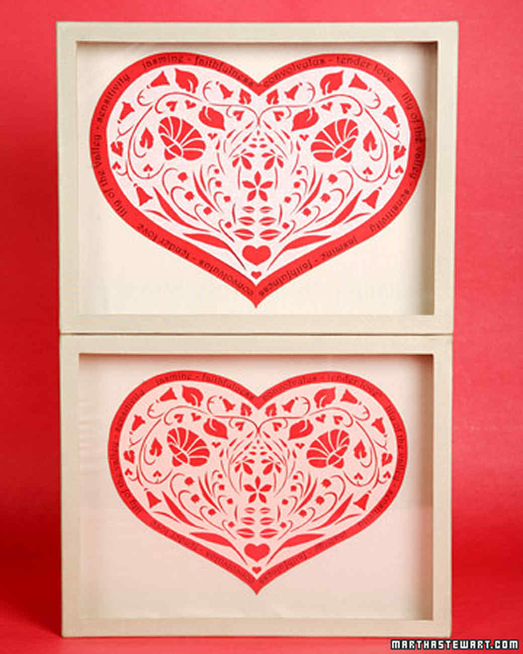 clip art and templates for valentine s day gifts martha stewart
