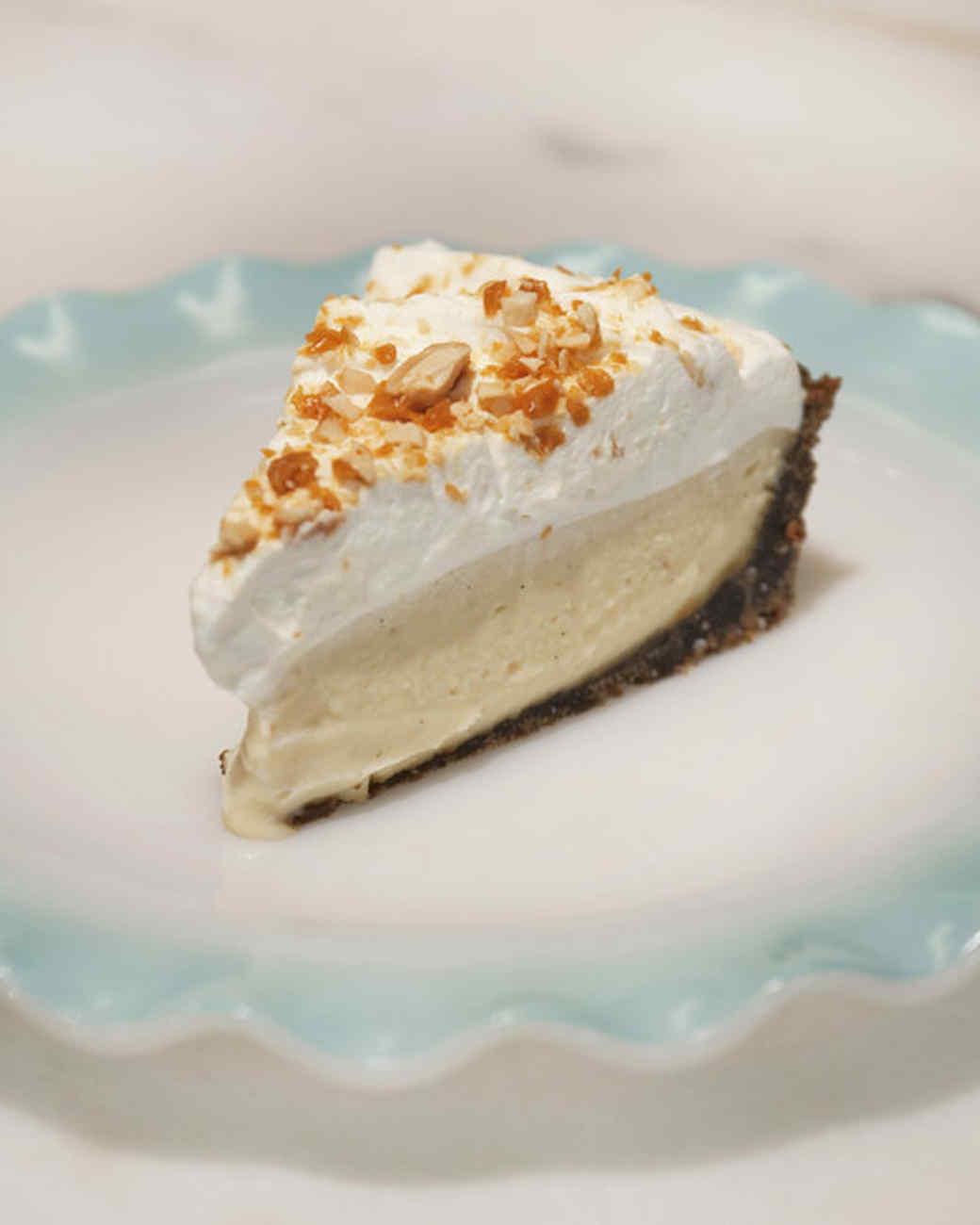 Butterscotch Cream Pie with Gingersnap Crust Recipe ...