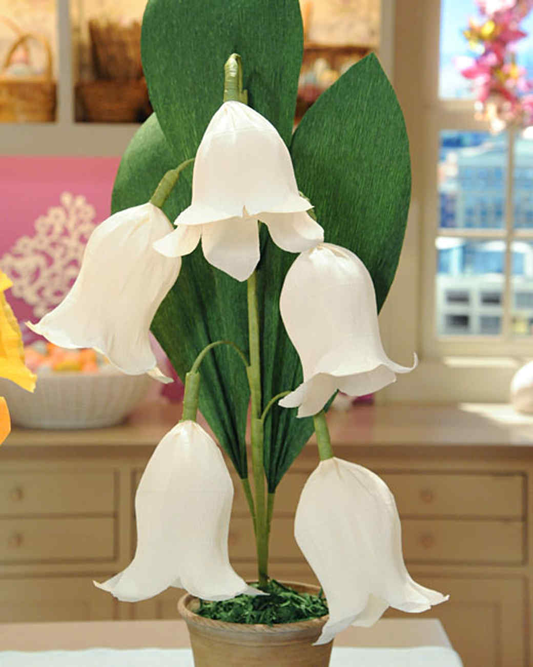 Crepe paper lily of the valley martha stewart dhlflorist Images