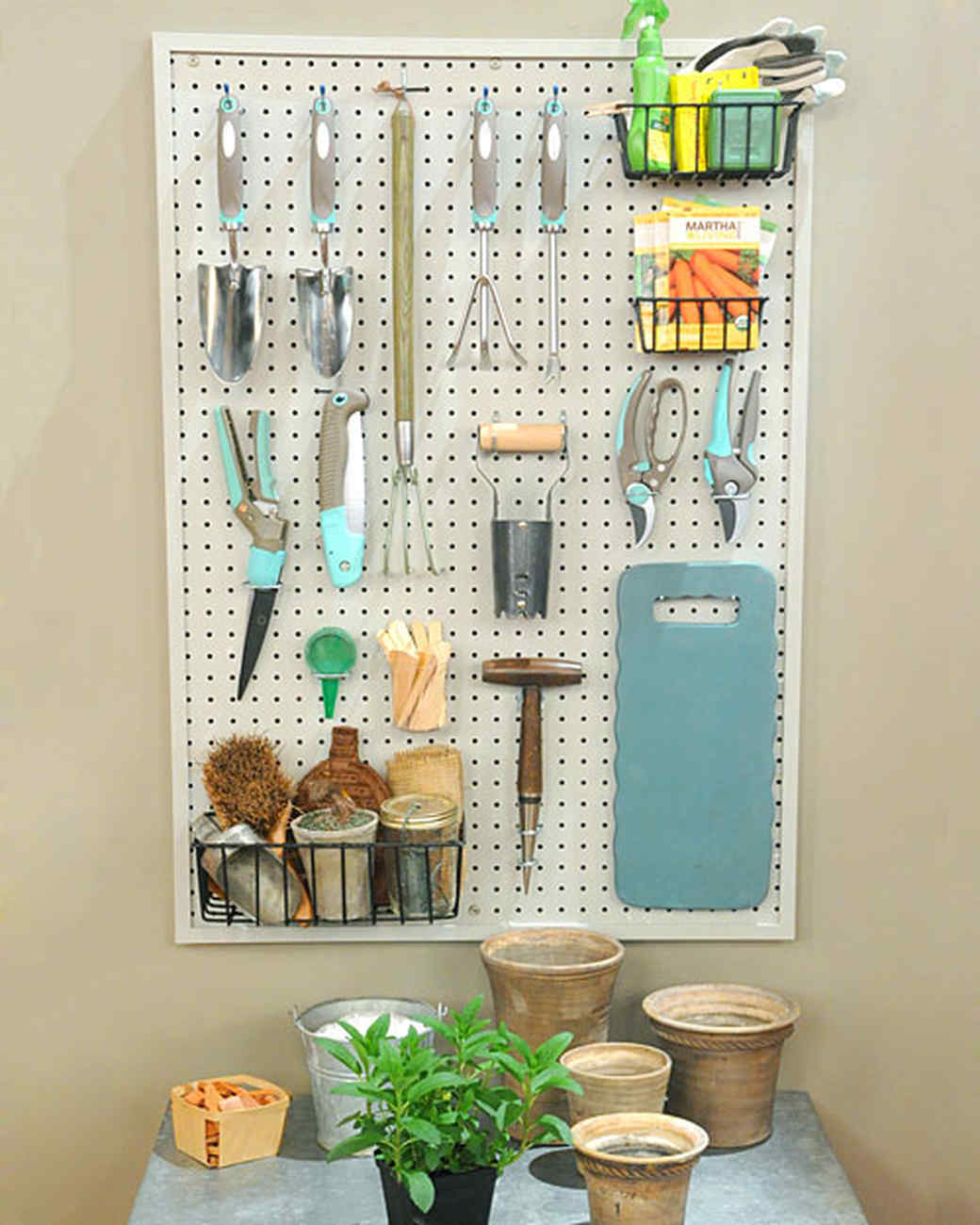 Delicieux Pegboard Storage Solution