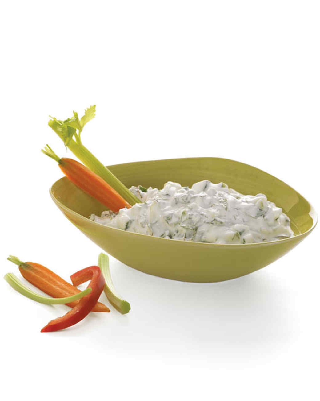 Cucumber-Mint Yogurt Dip