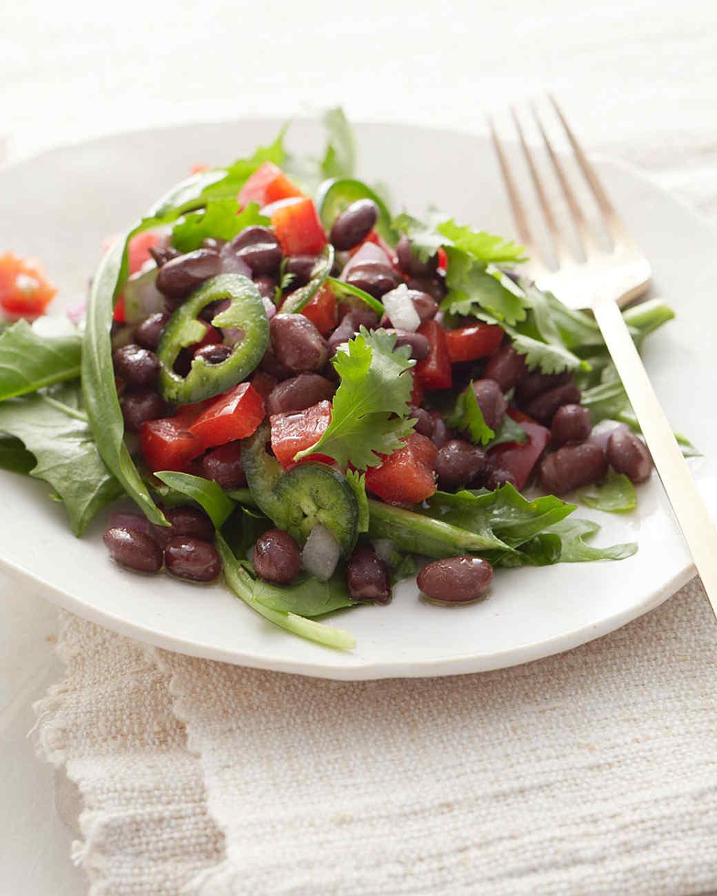Spicy Black-Bean Salad