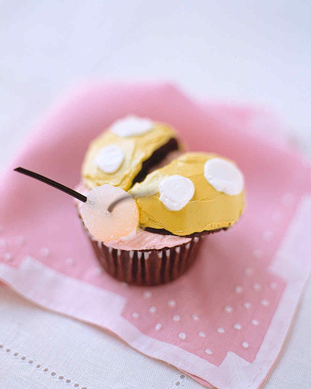 bug cupcake