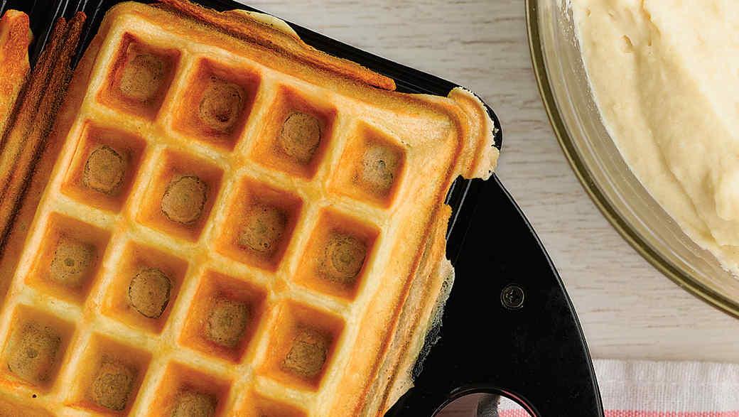 Buttermilk Waffles Recipe Video Martha Stewart