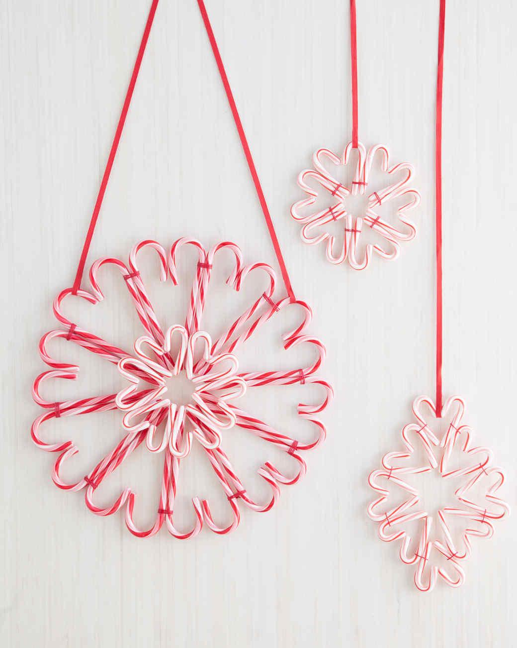 A Sweet Candy Cane Wreath For The Holidays Martha Stewart
