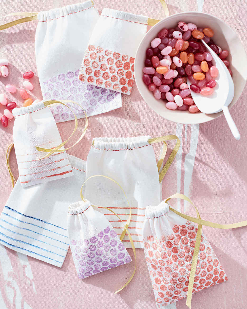 printed candy bags