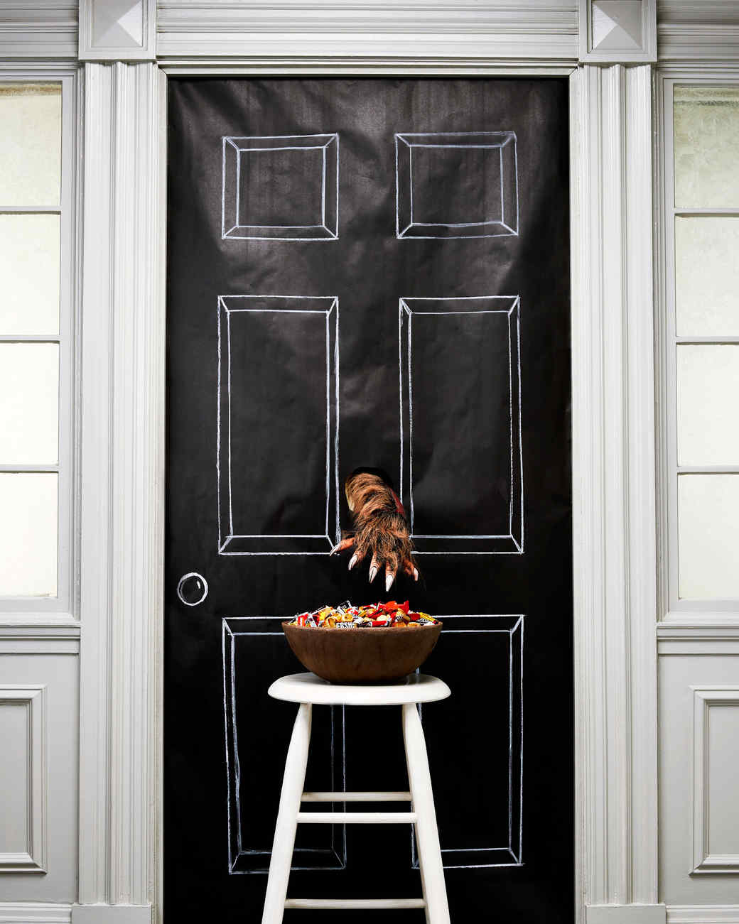10 clever ways to display your halloween candy for trick-or-treaters