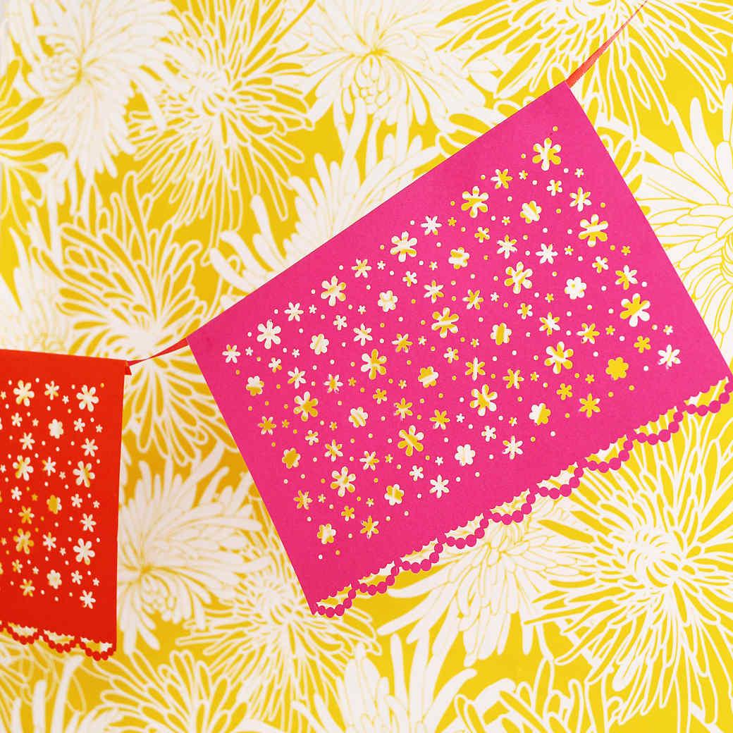 Floral Papel Picado: A Classic Mexican Paper Craft
