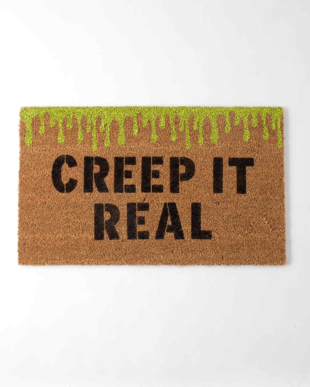 creep it real doormat