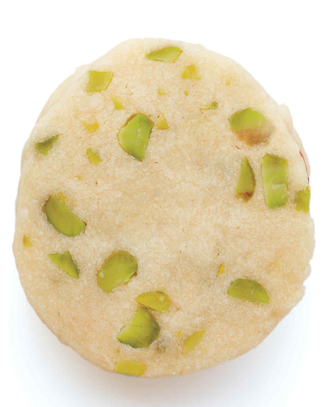 Pistachio-Shortbread Sandwich Cookies Recipe & Video | Martha Stewart