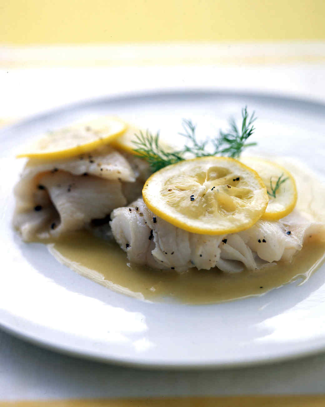 Sole with Lemon-Butter Sauce