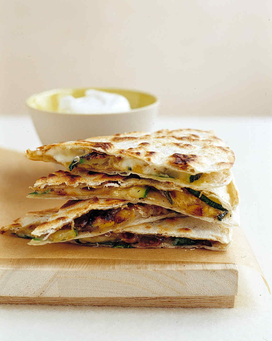 salsa vegetable quesadillas with fresh salsa recipe yummly vegetable ...