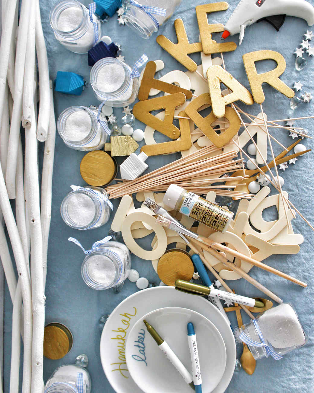 hanukkah latke bar craft projects