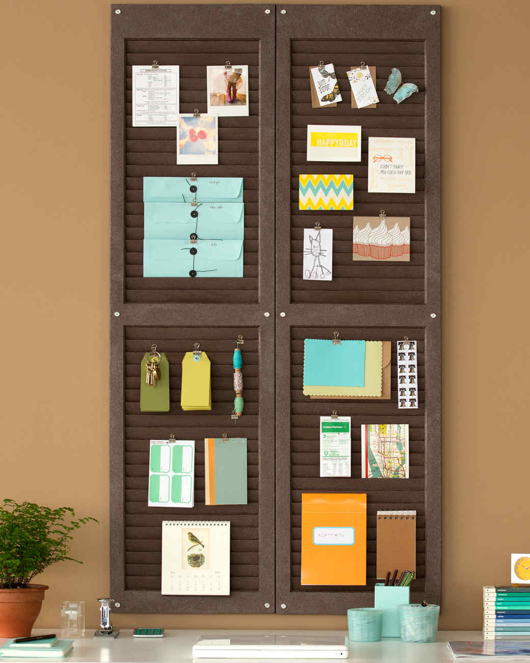 14 Diy Ideas To Help You Stay Organized Martha Stewart