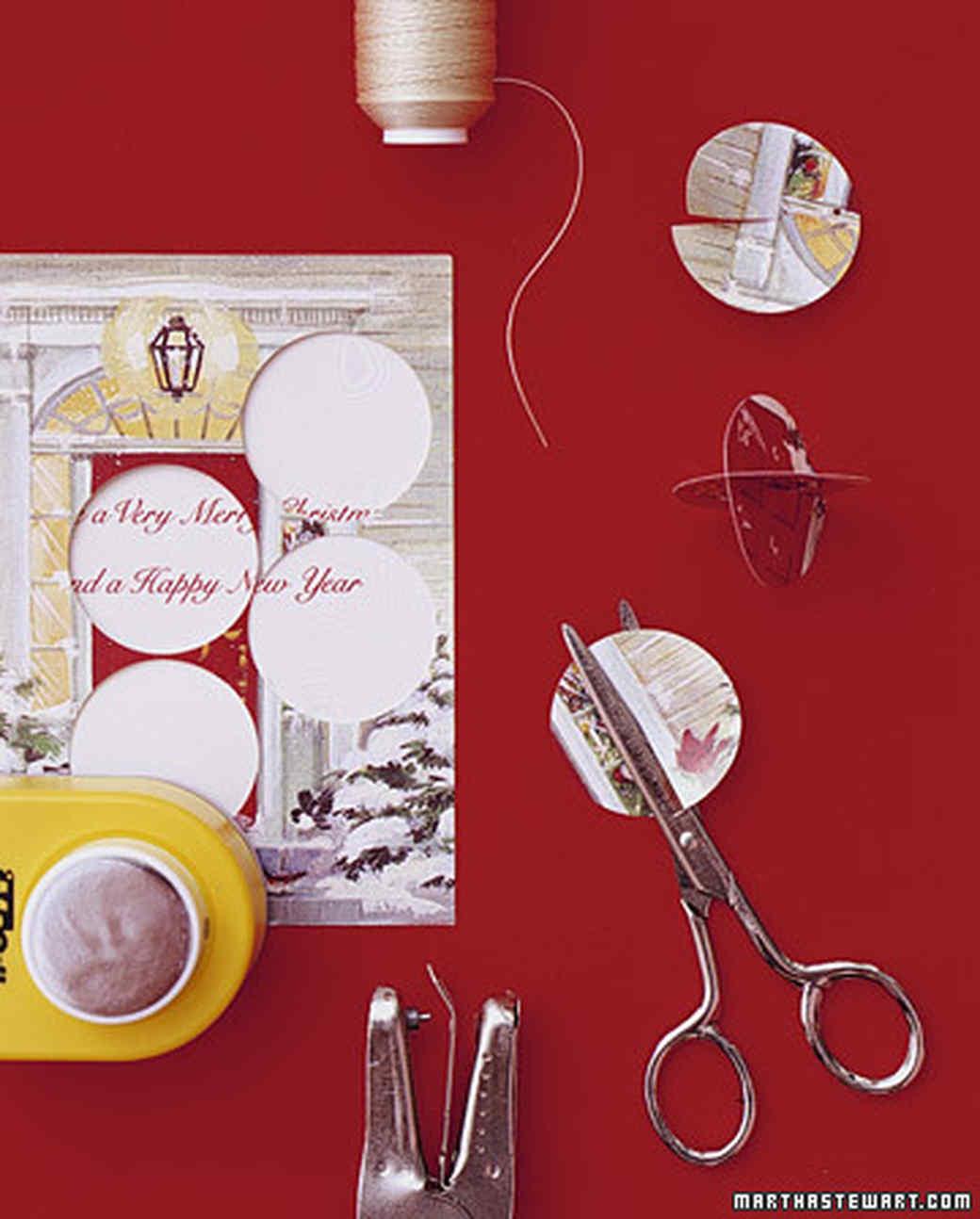 Recycled Ornaments | Martha Stewart