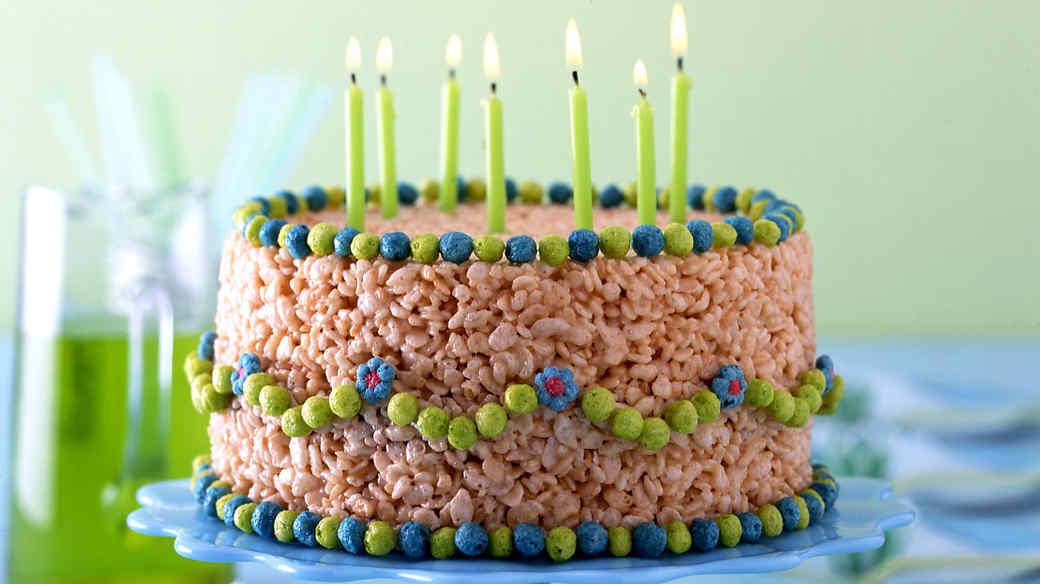 No Bake Birthday Cake Recipe