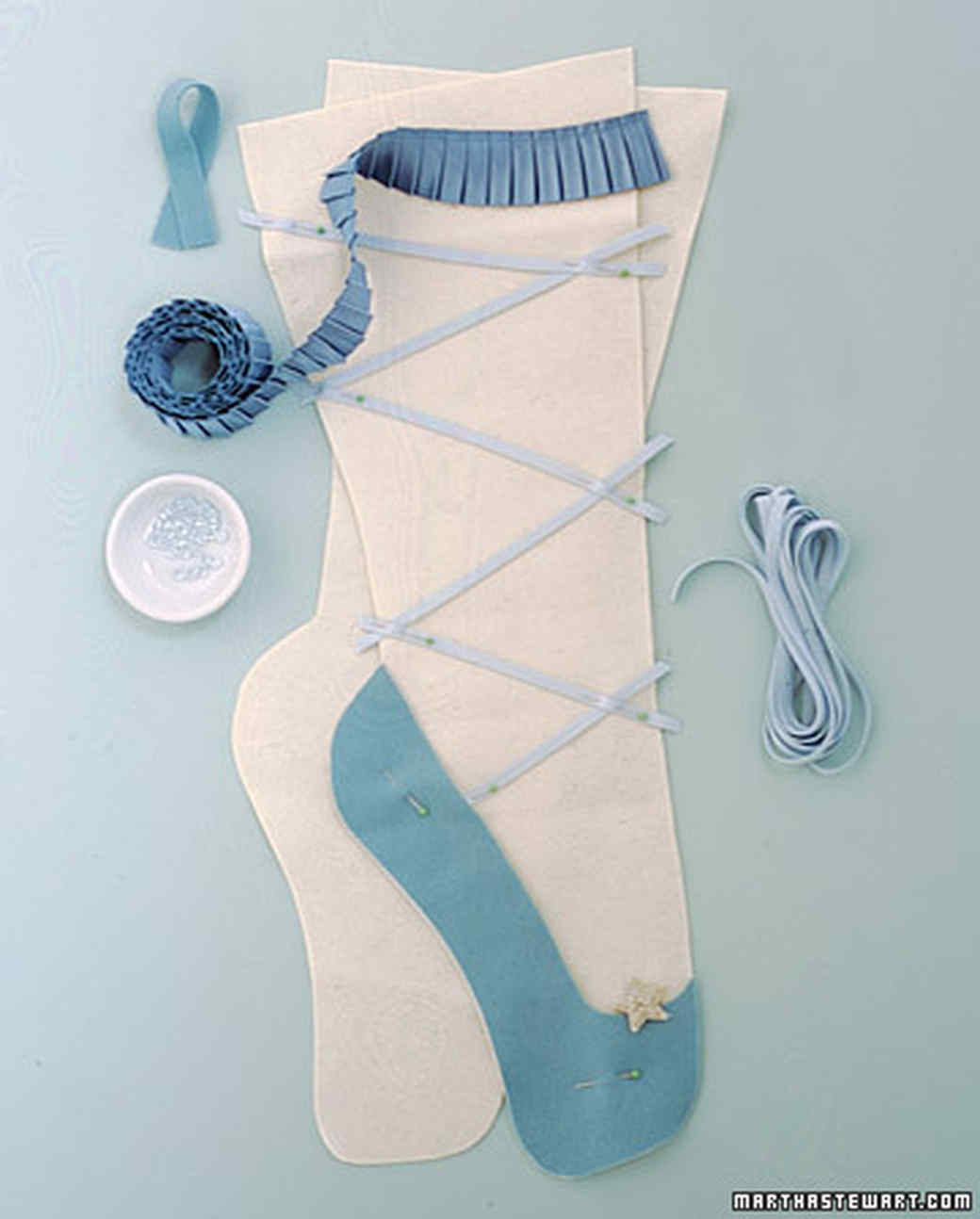 Nutcracker Stockings How To Martha Stewart