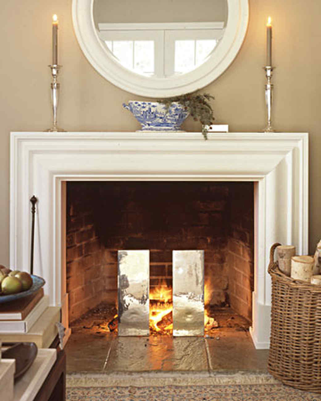 how to start a fire and other fireplace basics martha stewart