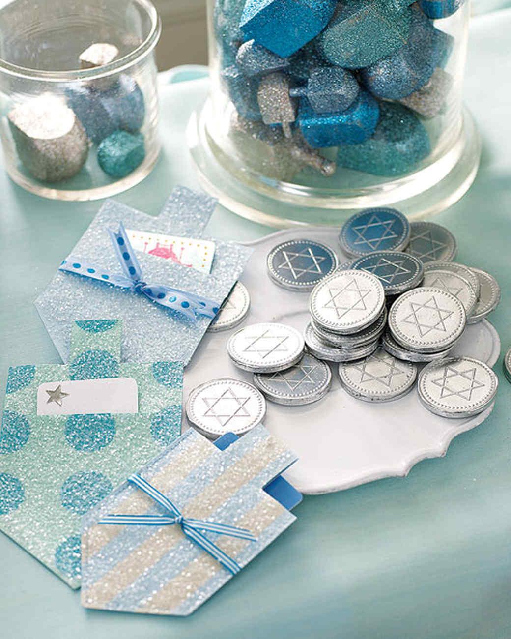 Dreidel Gift-Card Holders