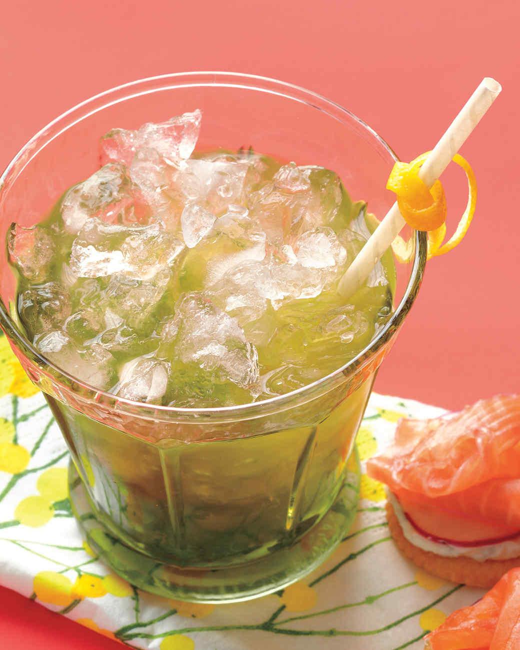 Lemon-and-Mint Julep