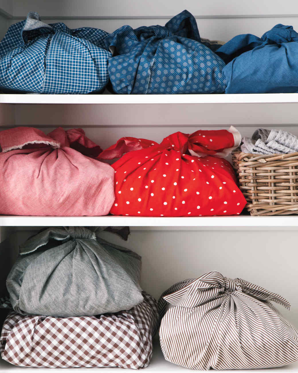 Organized Bed Linens