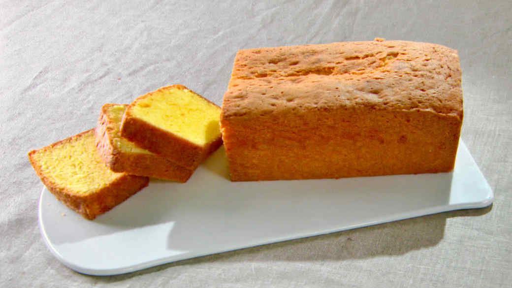 Classic Pound Cake Recipe Video Martha Stewart